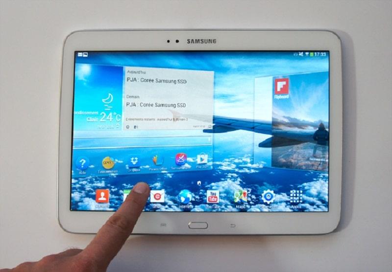 Comment remettre à zéro une tablette Samsung