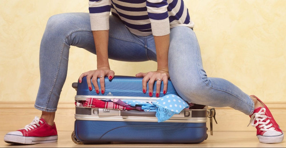Fermer une valise