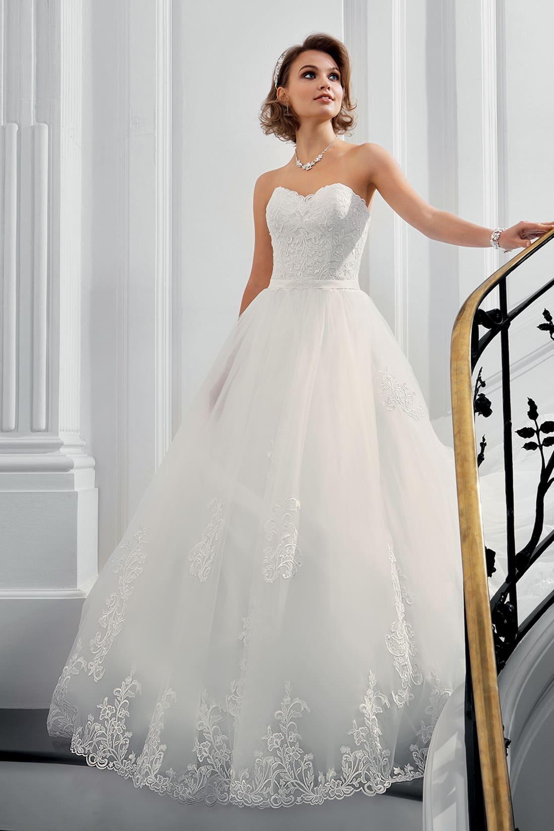 La robe de mariée pour une femme svelte