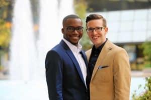 mariage gay entre célibataires lgbt rencontré en ligne