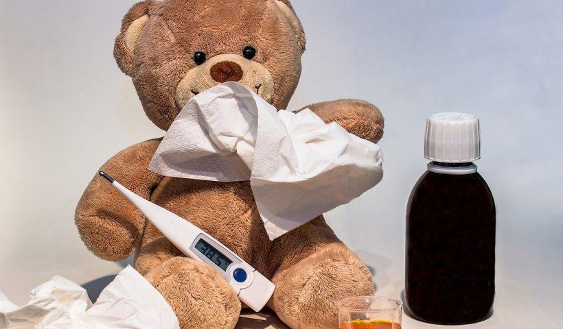 Enfants malades : les bons gestes à avoir